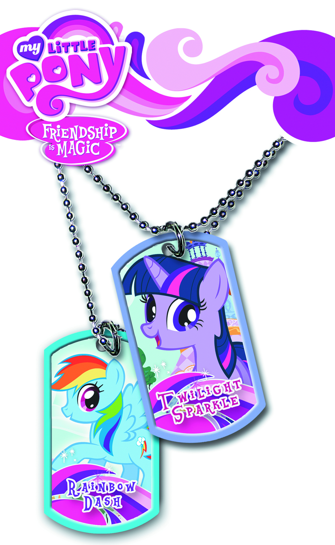 MY LITTLE PONY COLLECTIBLE DOG TAG PK DIS