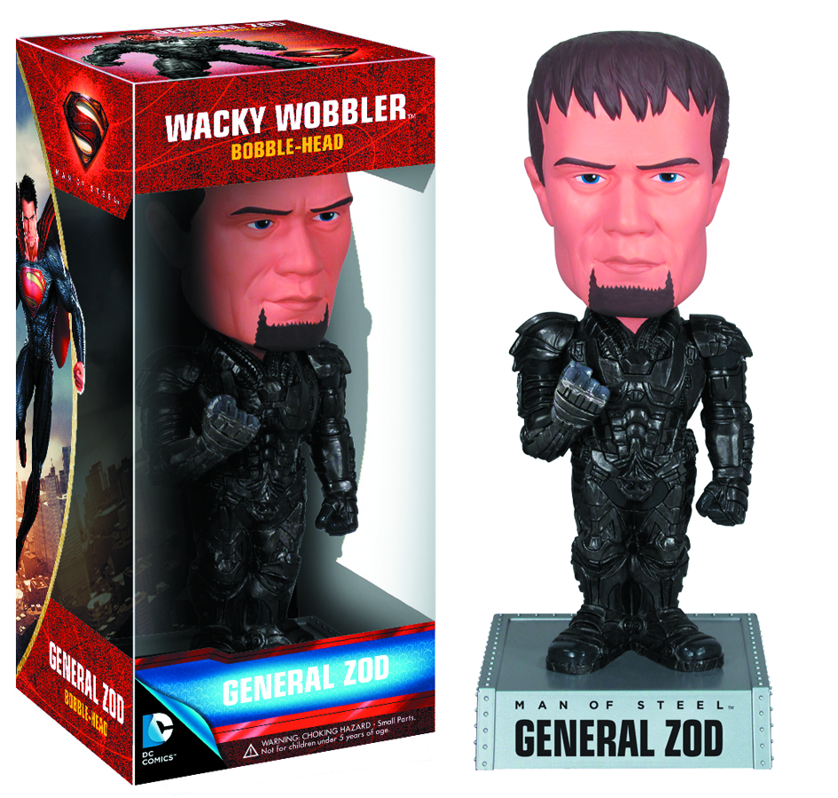 MAN OF STEEL ZOD WACKY WOBBLER