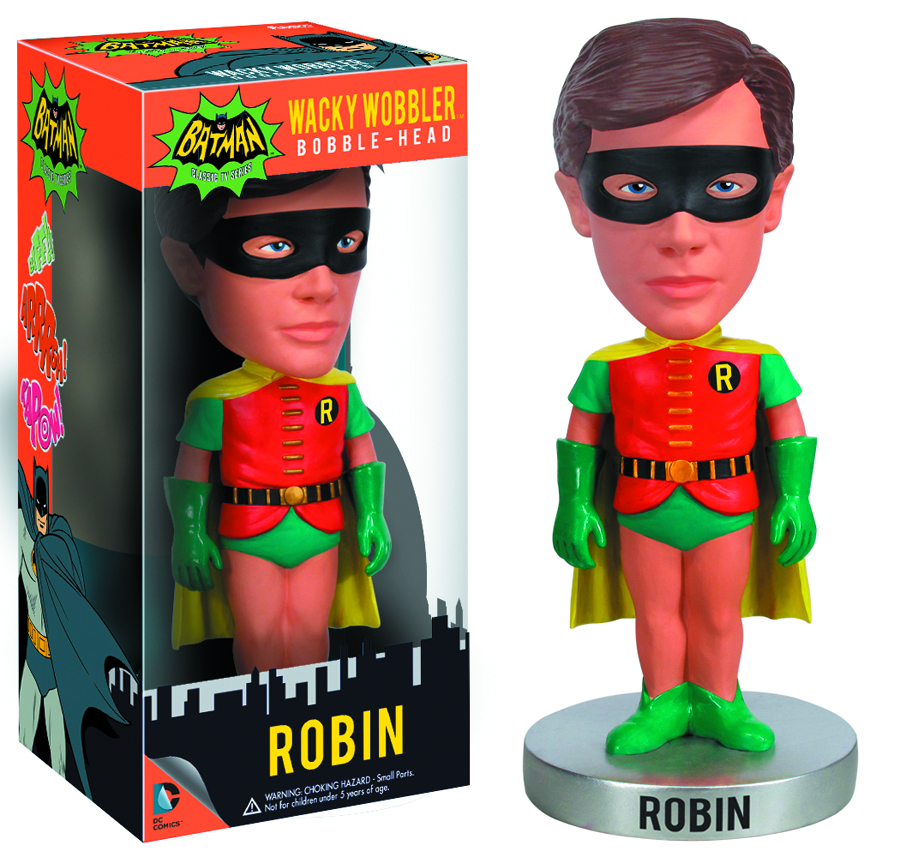 BATMAN 1966 ROBIN WACKY WOBBLER