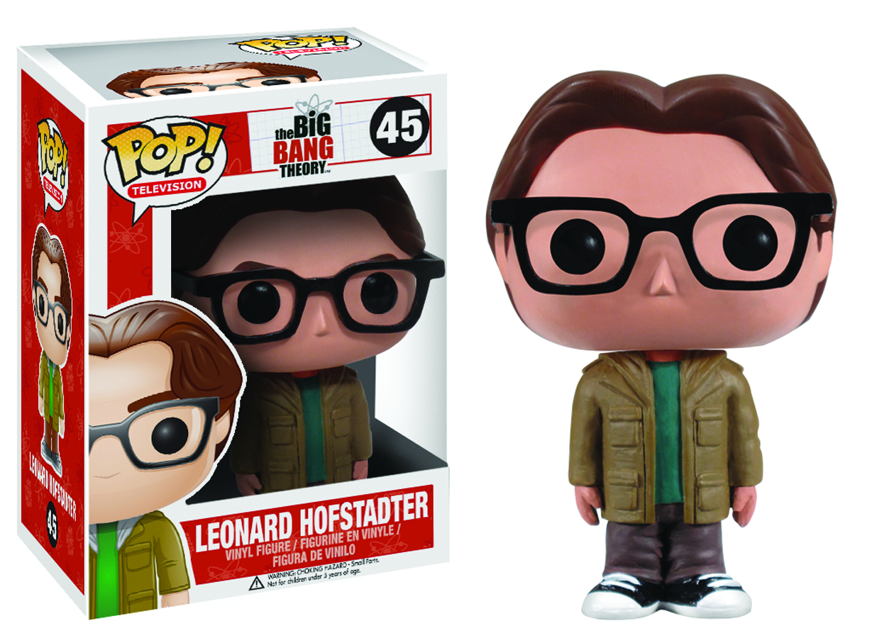 POP BIG BANG THEORY LEONARD VINYL FIG