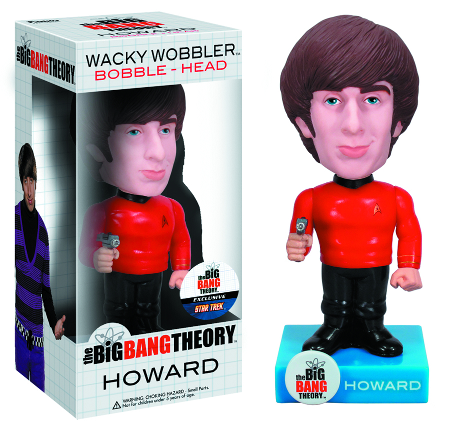 BBT X STAR TREK HOWARD WACKY WOBBLER