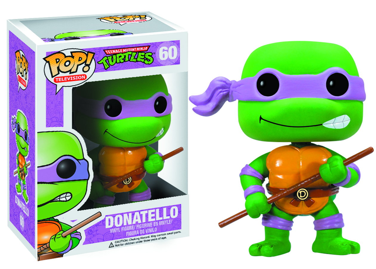POP TMNT DONATELLO VINYL FIG