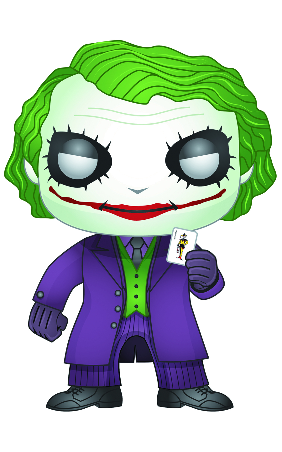 POP DARK KNIGHT JOKER VINYL FIG