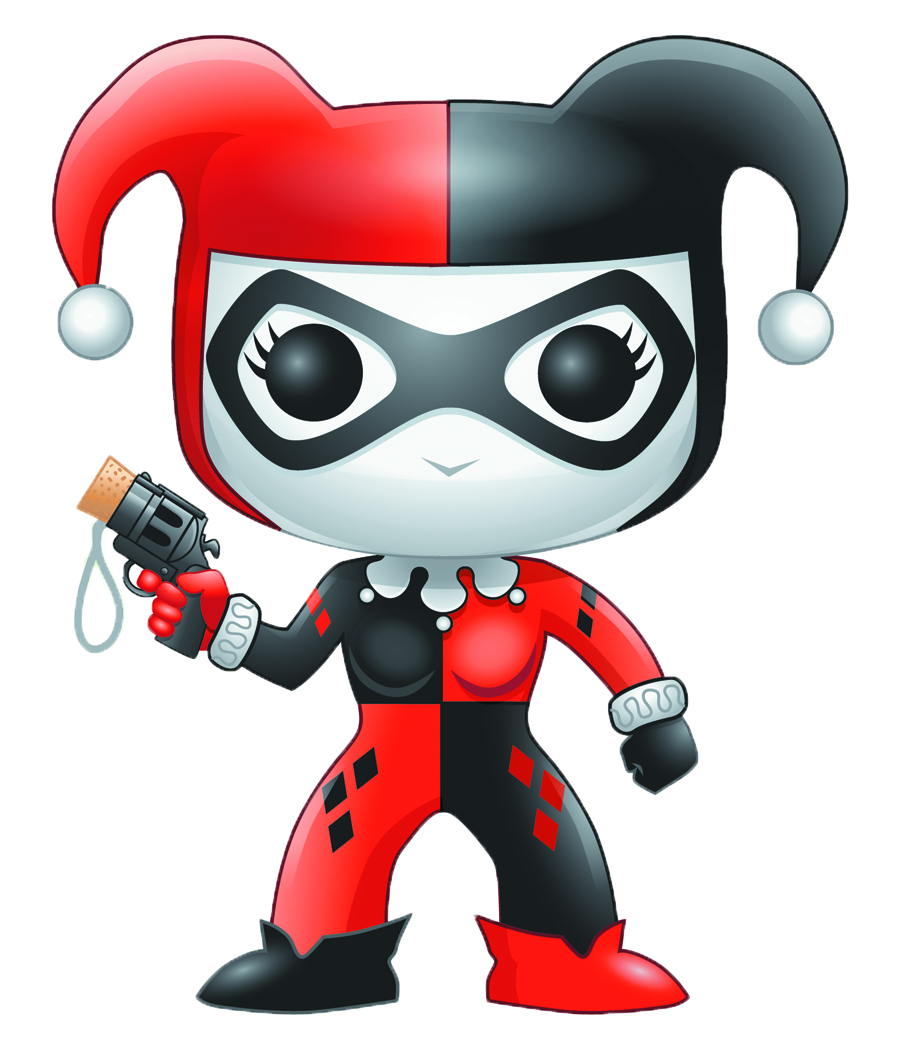 POP DARK KNIGHT HARLEY QUINN VINYL FIG