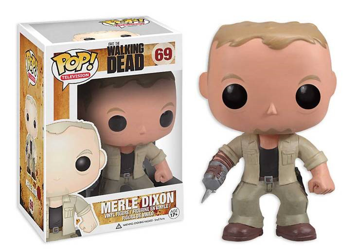 POP WALKING DEAD MERLE VINYL FIG