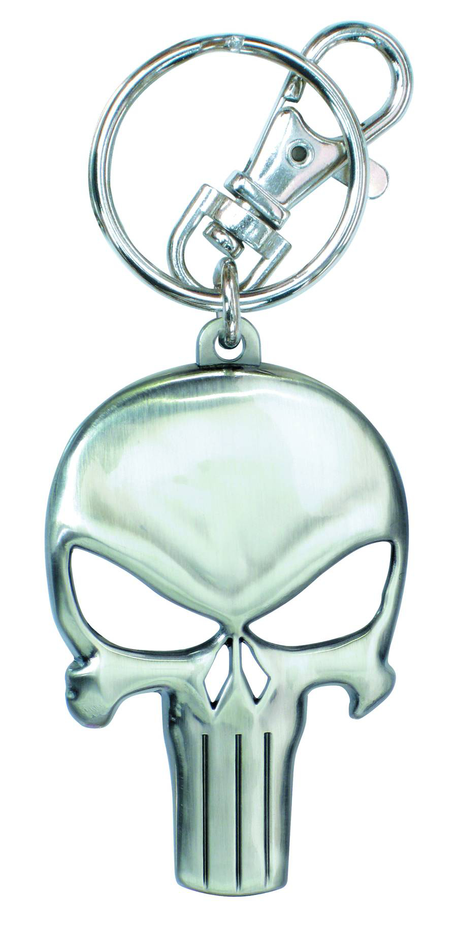 PUNISHER SYMBOL PEWTER KEYRING