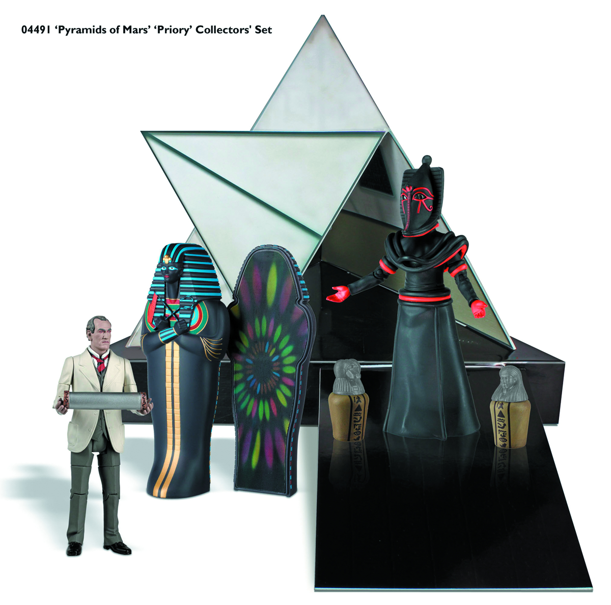 DOCTOR WHO PYRAMIDS OF MARS AF COLL SET