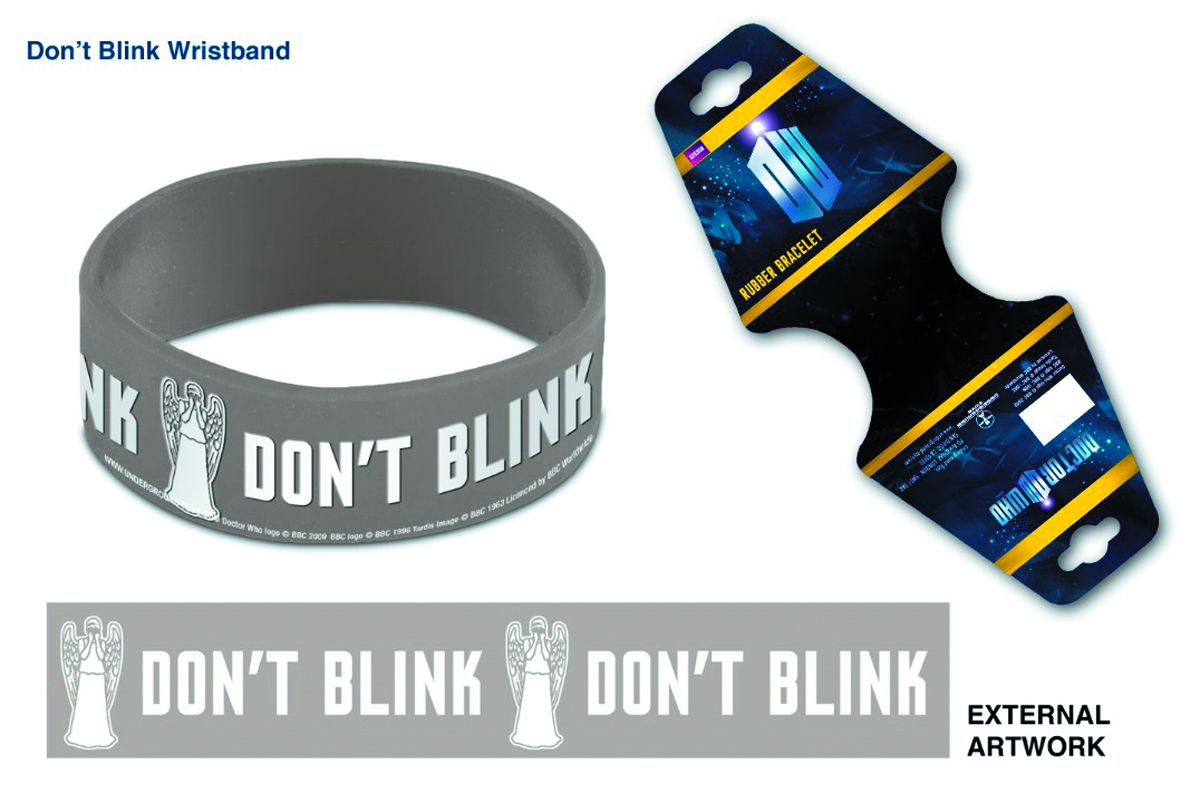 DOCTOR WHO DONT BLINK WRISTBAND