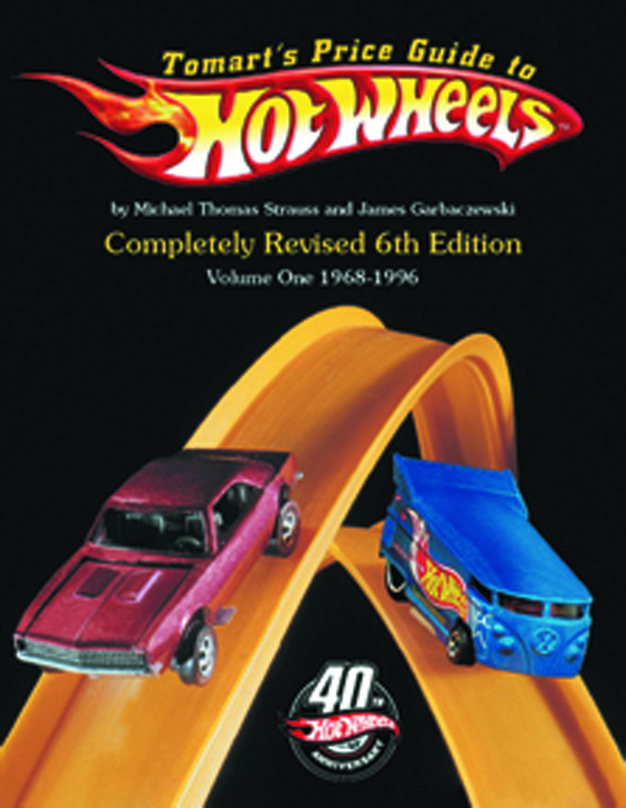 JUN131841 - TOMARTS PRICE GUIDE TO HOT WHEELS 6TH ED VOL 1 & 2 SET ...