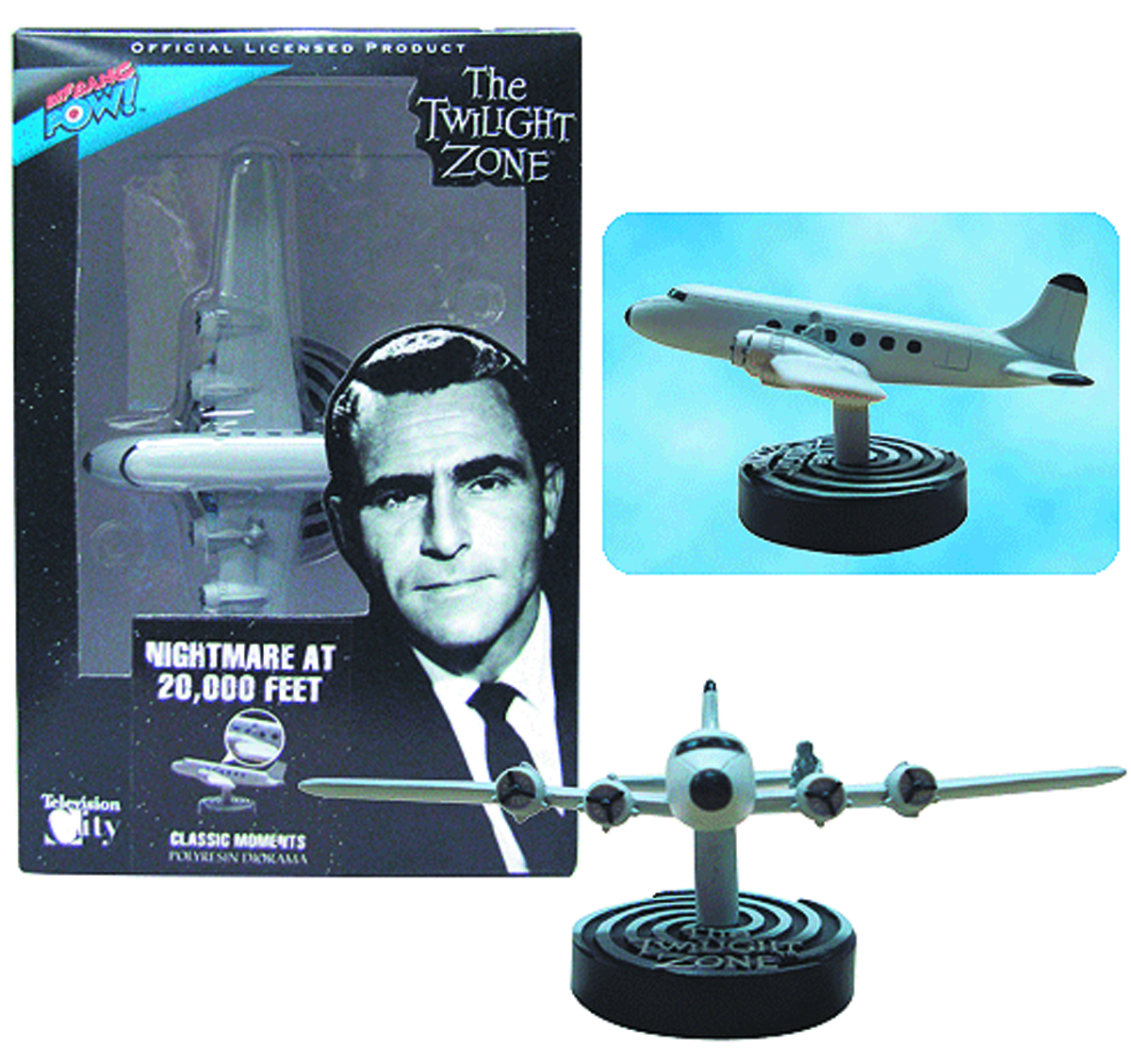 TWILIGHT ZONE NIGHTMARE 20000 FT DIORAMA SET