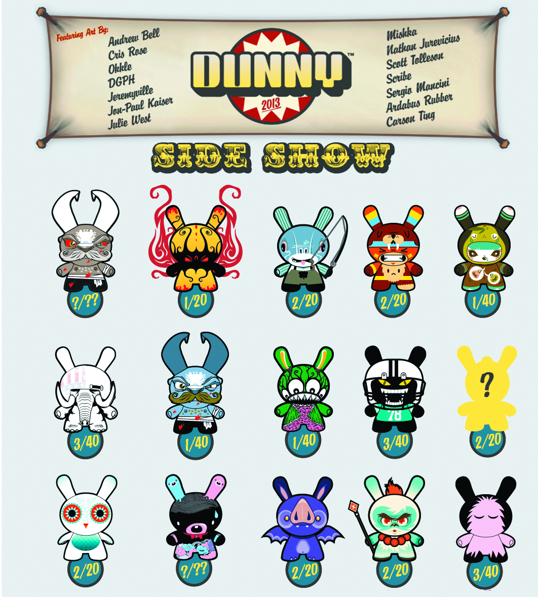 DUNNY SERIES 2013 20PC BMB DS