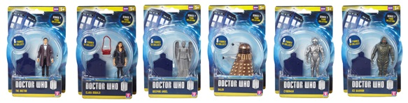 DOCTOR WHO 3.75IN AF 12PC ASST