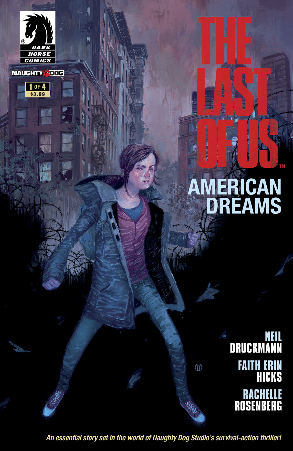 (USE JUN138070) LAST OF US AMERICAN DREAMS #1 (OF 4)