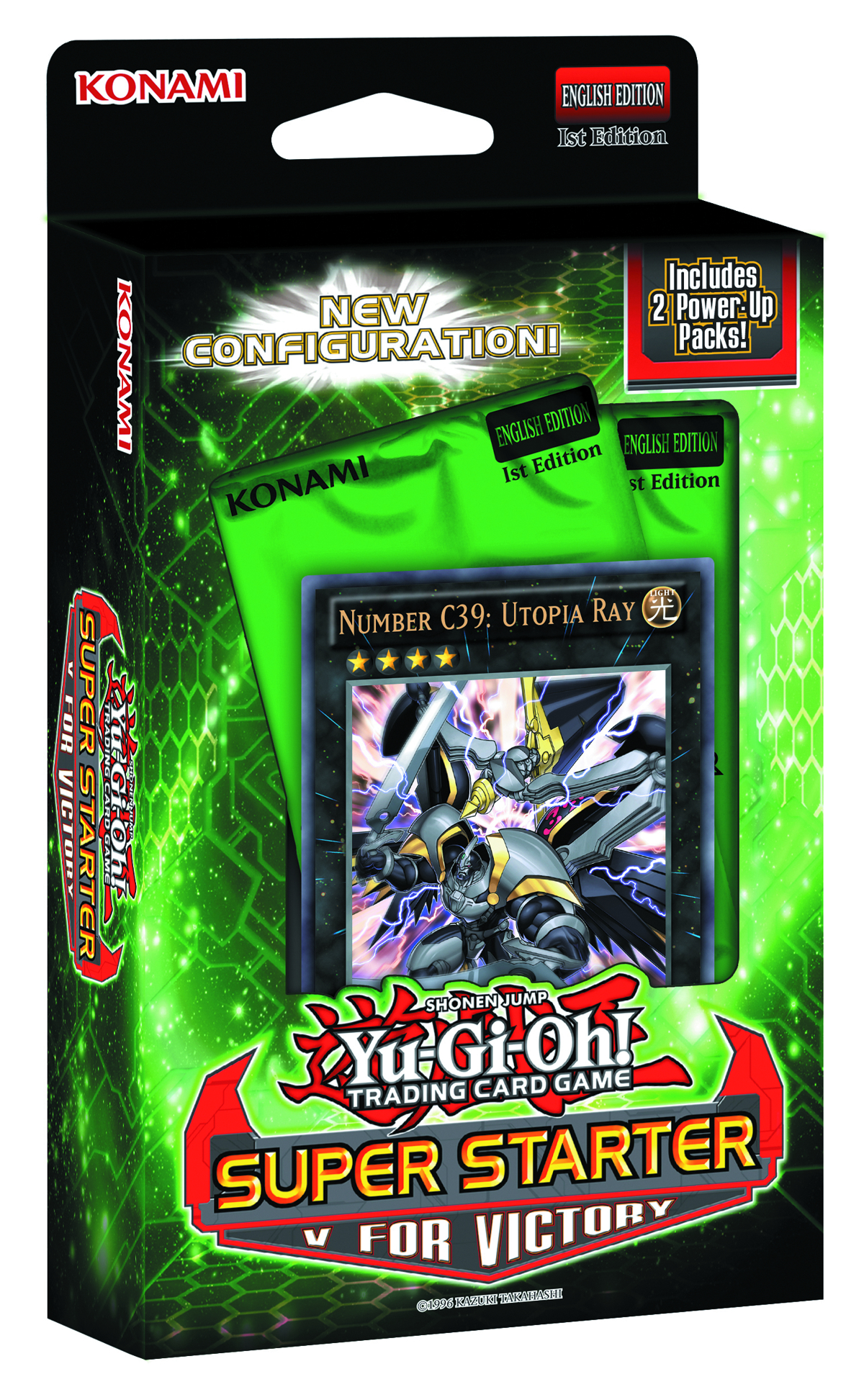 YU GI OH TCG V FOR VICTORY SUPER STARTER DECK DIS