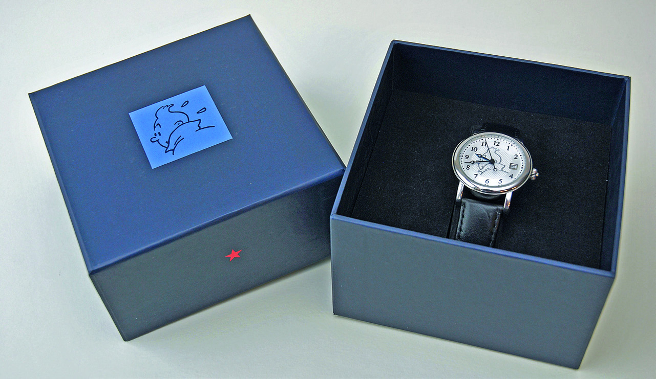 TINTIN BLACK WATCH LIMITED EDITION