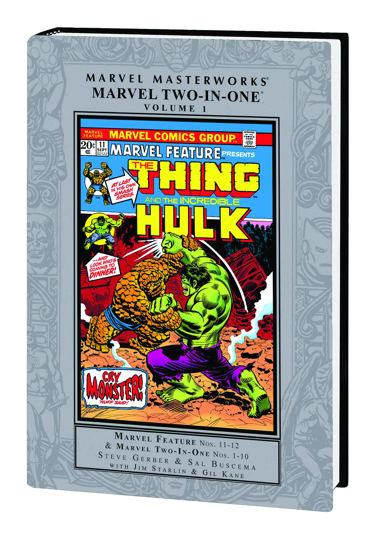 MMW MARVEL TWO IN ONE HC VOL 01
