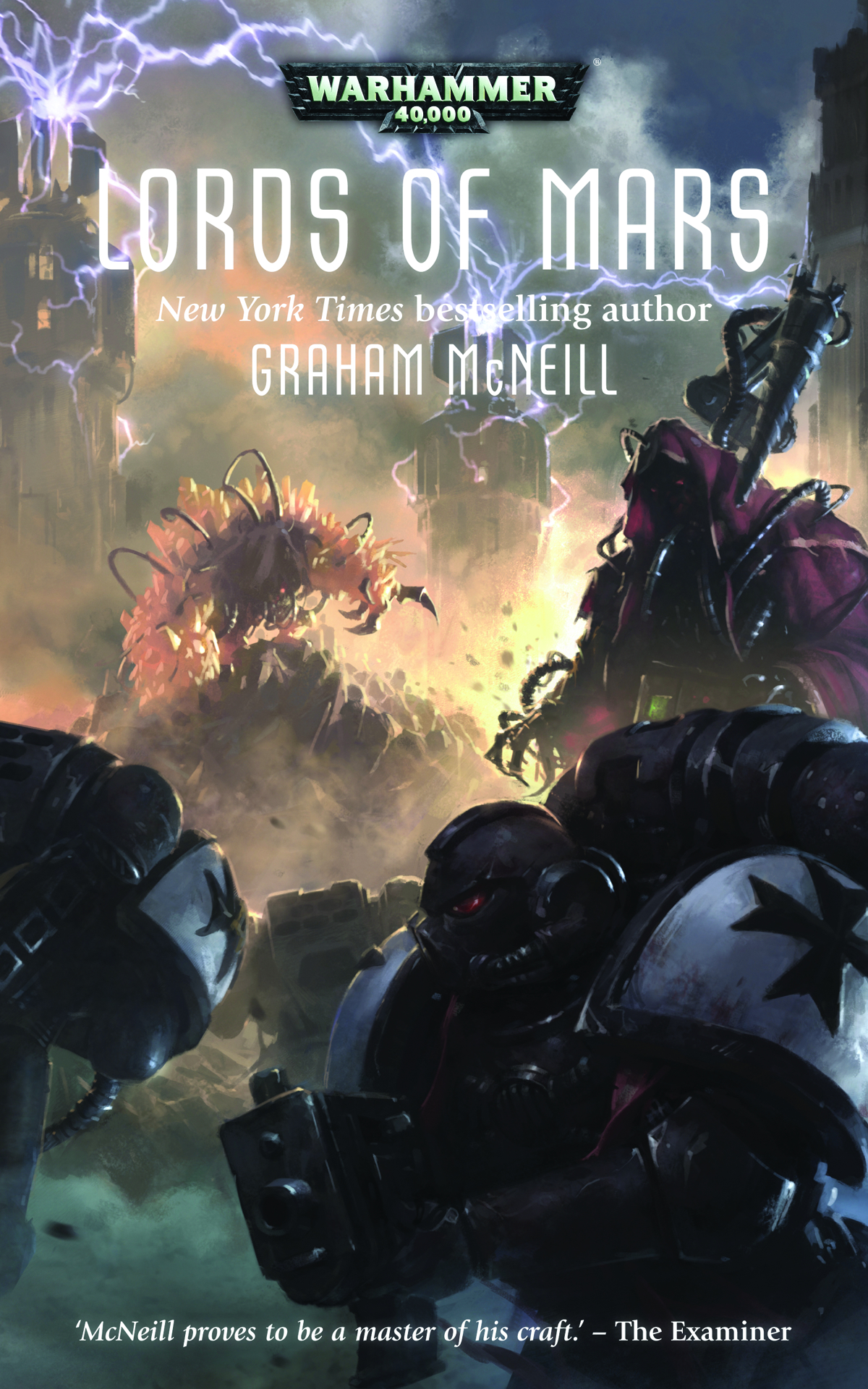 WARHAMMER 40K LORDS OF MARS HC