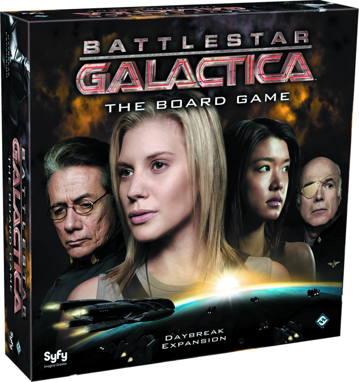 BATTLESTAR GALACTICA BOARD GAME DAYBREAK EXP