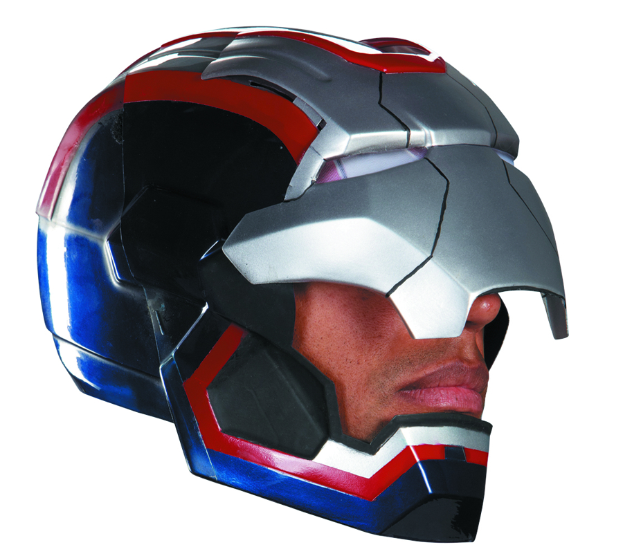 IRON MAN 3 IRON PATRIOT ADULT HELMET