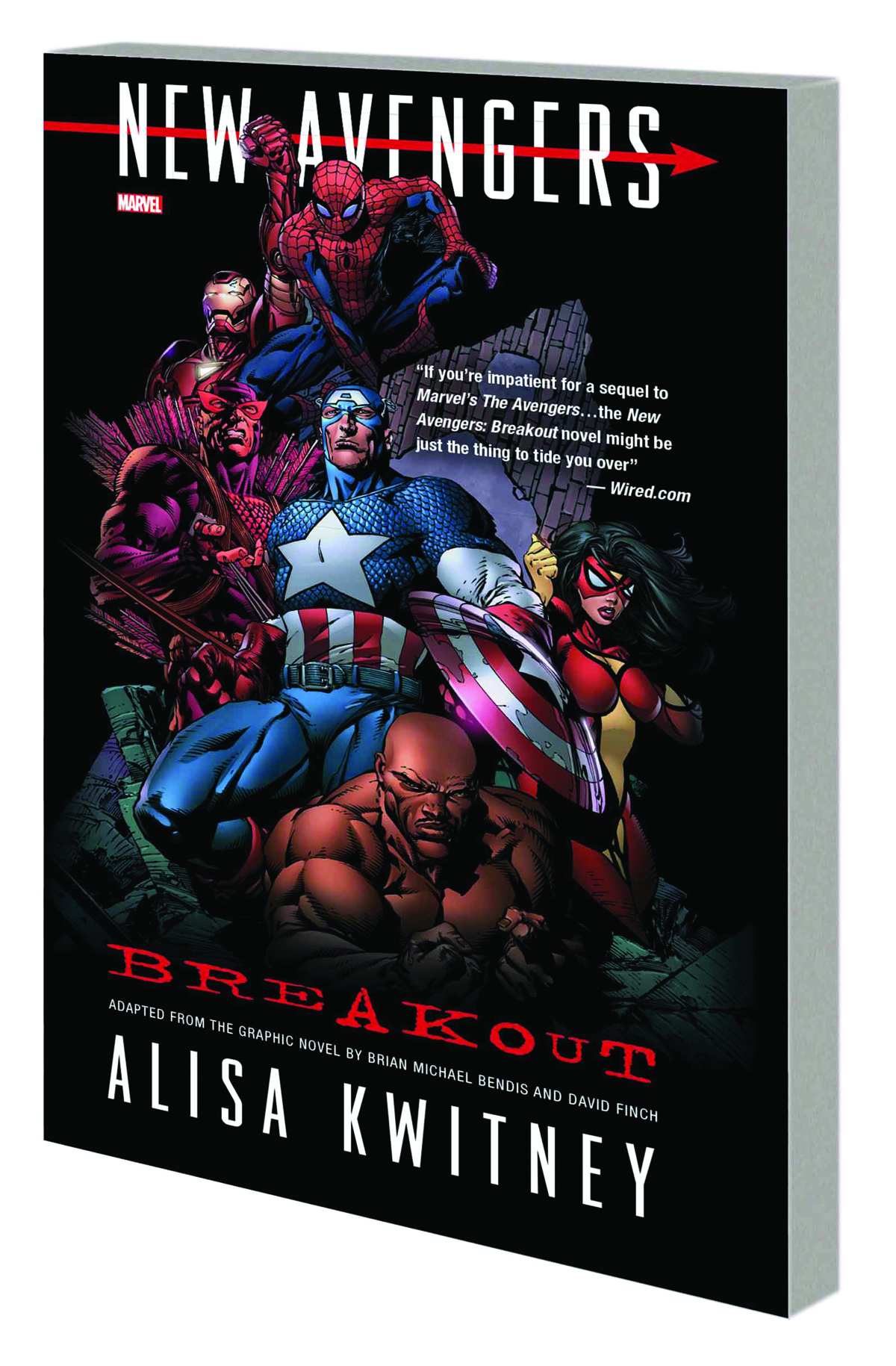NEW AVENGERS BREAKOUT PROSE NOVEL MASS MARKET TP