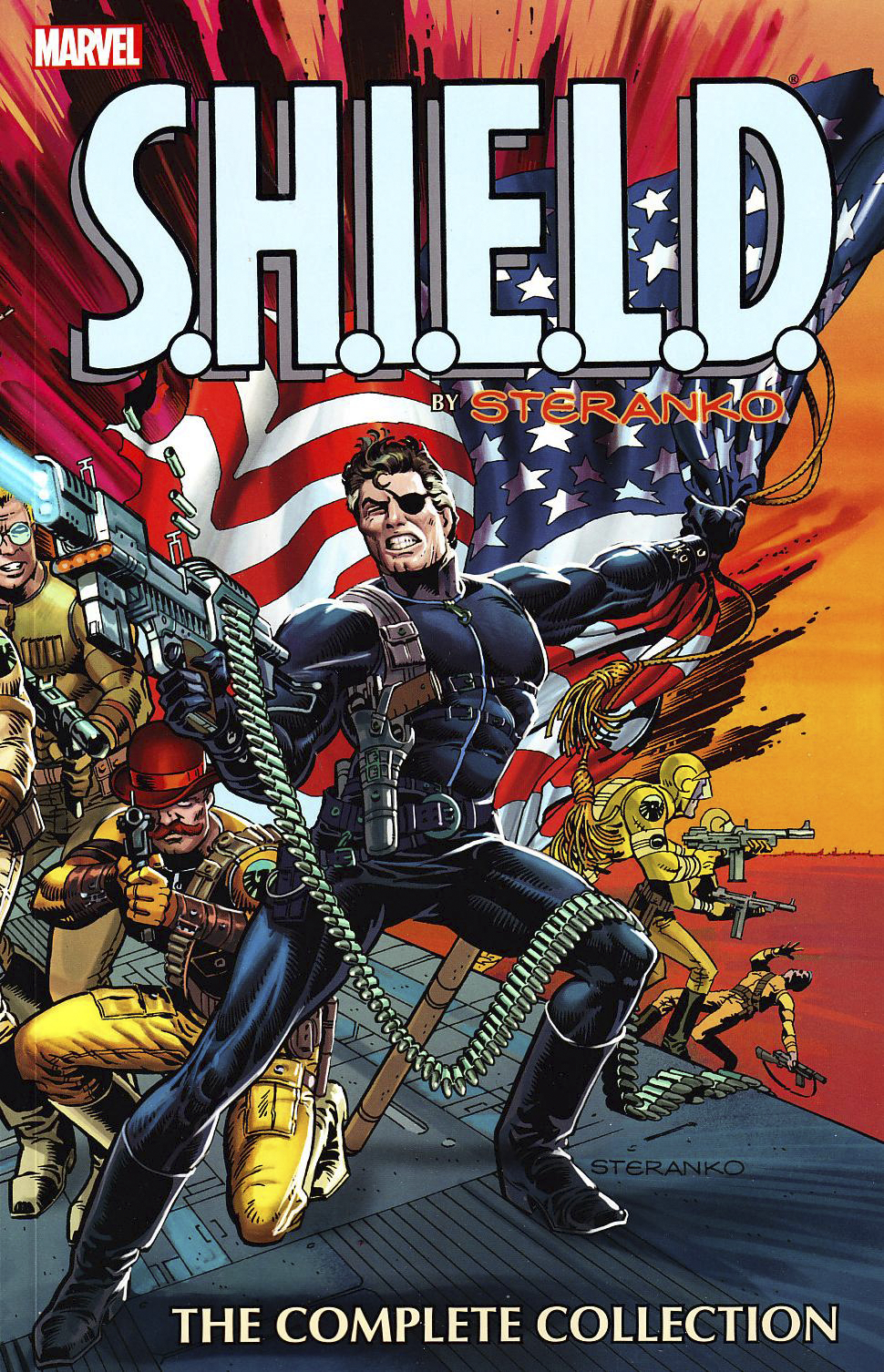 SHIELD BY STERANKO TP COMPLETE COLLECTION