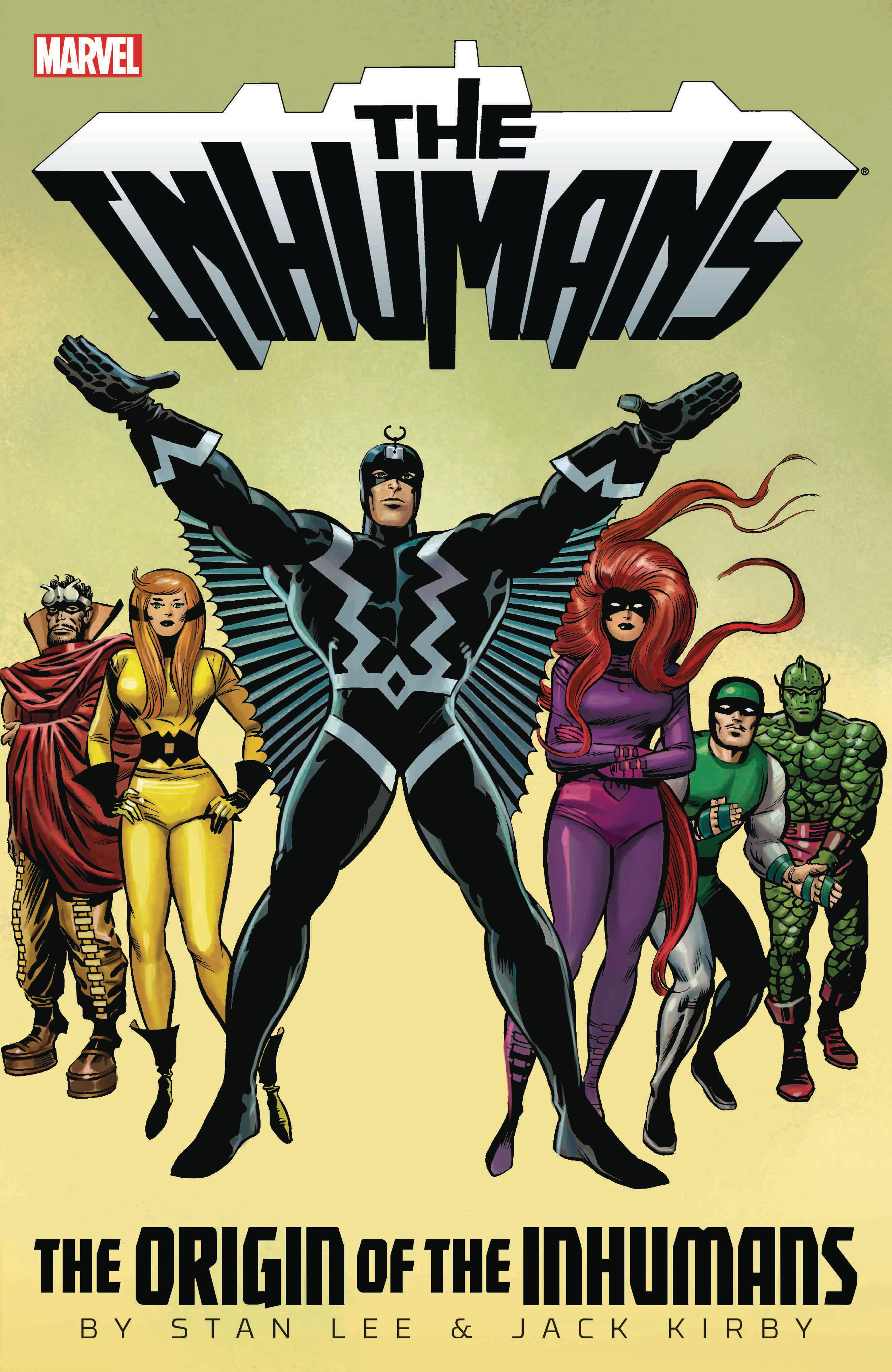 INHUMANS TP ORIGIN OF INHUMANS