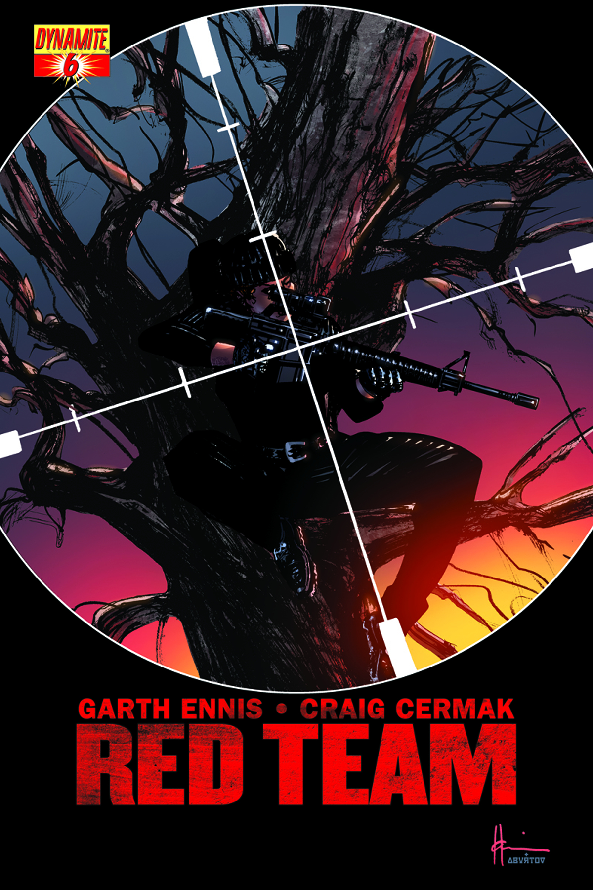GARTH ENNIS RED TEAM #6