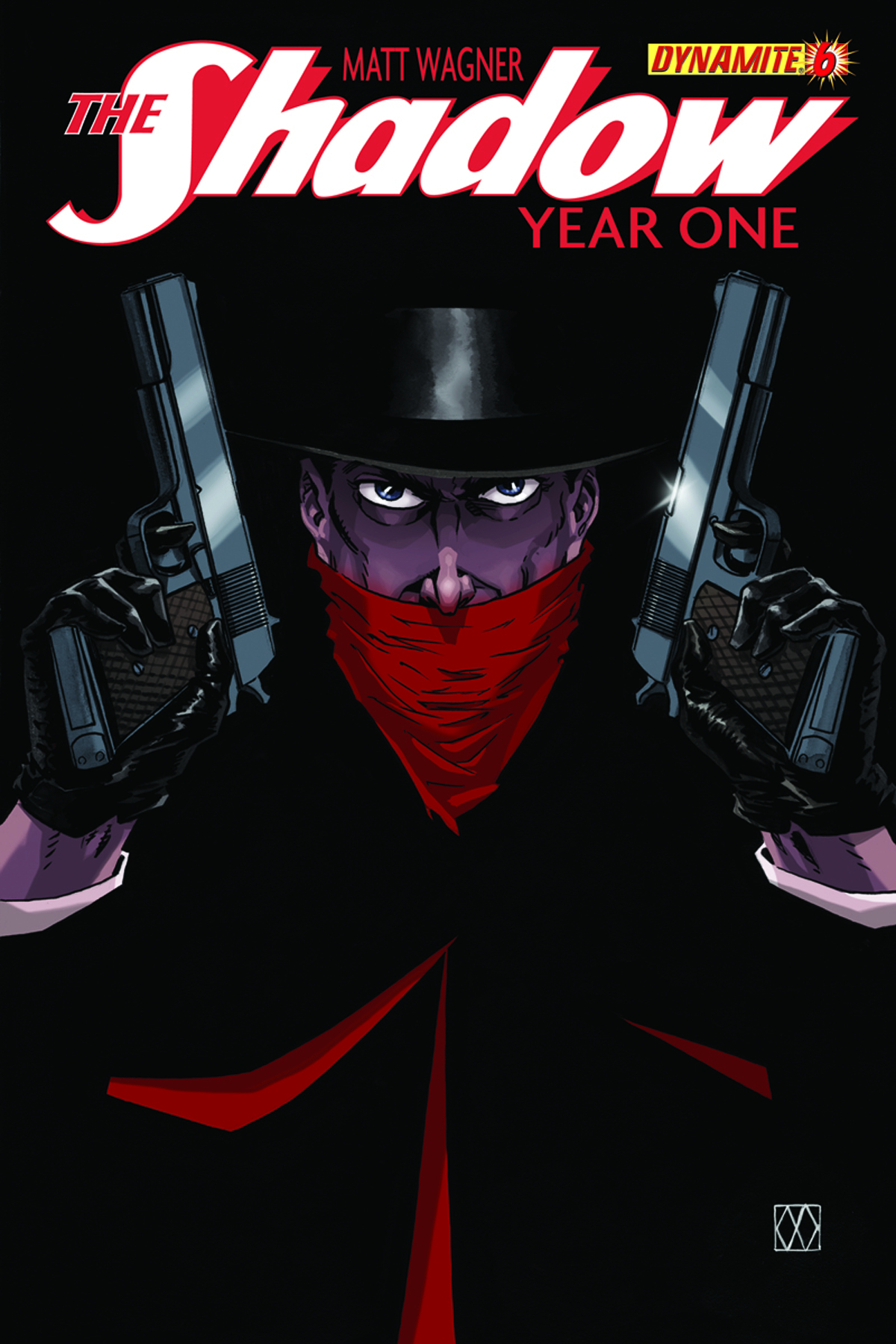 SHADOW YEAR ONE #6 (OF 10) 200 COPY WAGNER HAND DRAWN INCV
