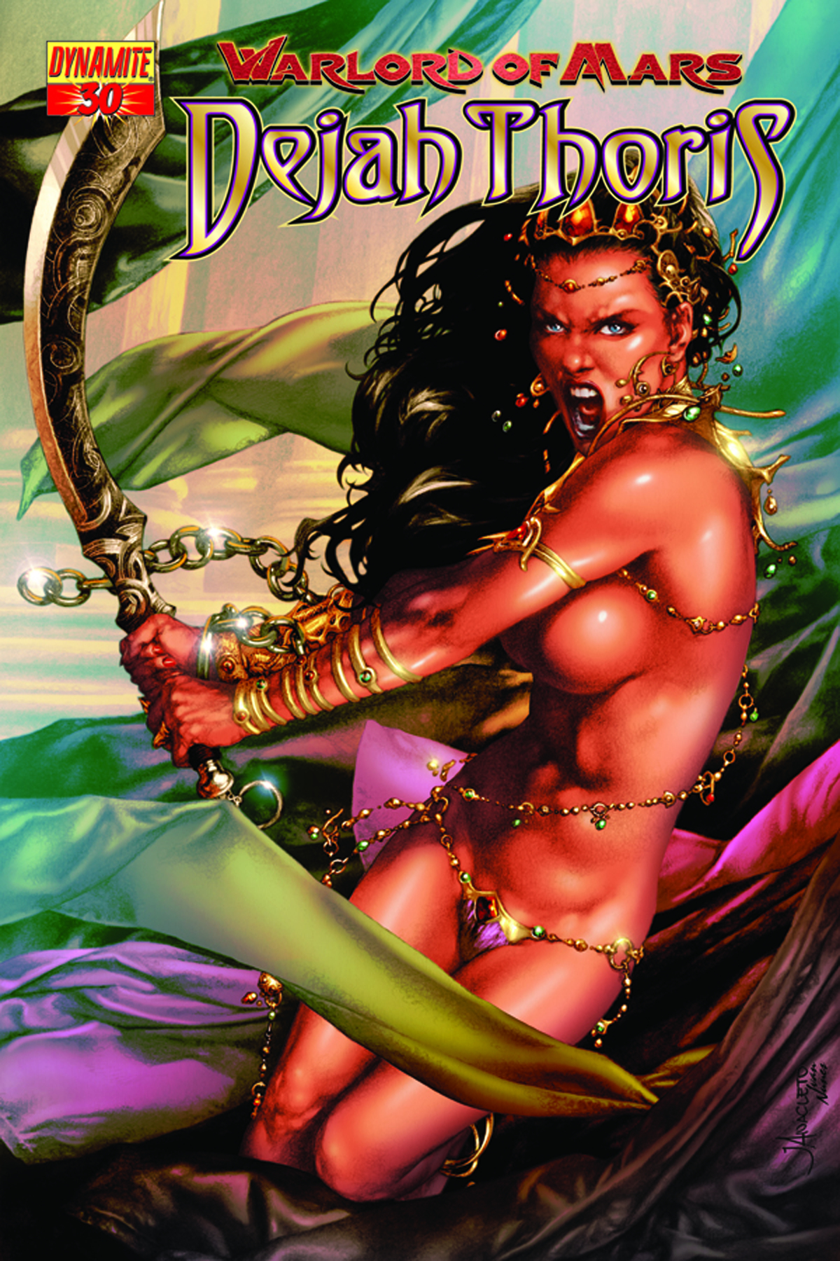 WARLORD OF MARS DEJAH THORIS #30