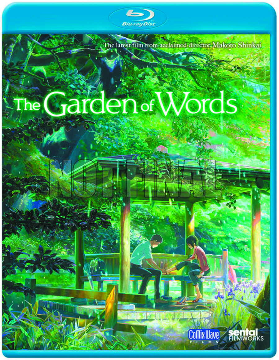 GARDEN OF WORDS BD