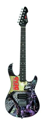 WALKING DEAD #78 PX ROCKMASTER ELECTRIC GUITAR