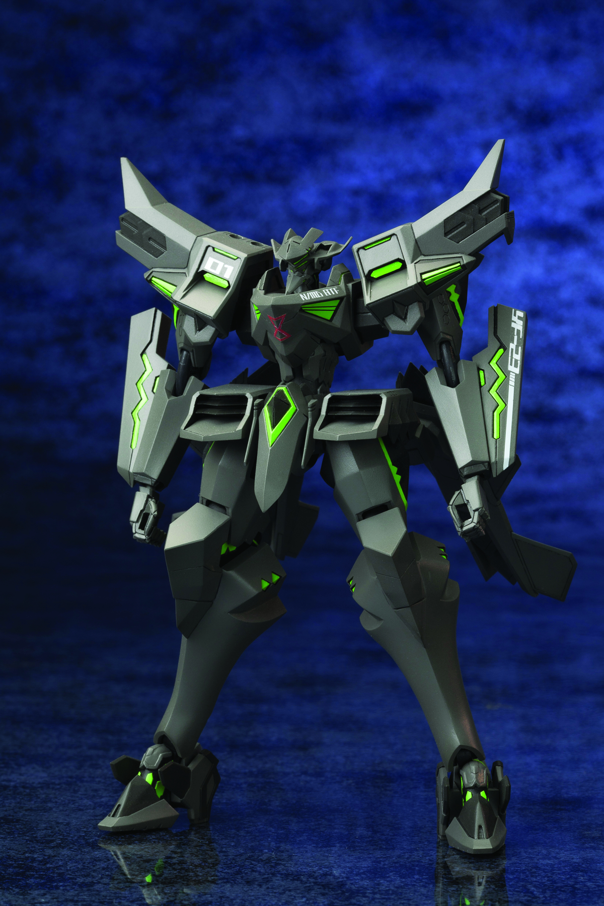 MUV-LUV ALT YF-23 BLACK WIDOW II PLASTIC MDL KIT