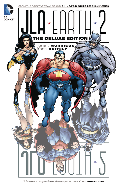 JLA EARTH 2 DELUXE EDITION HC