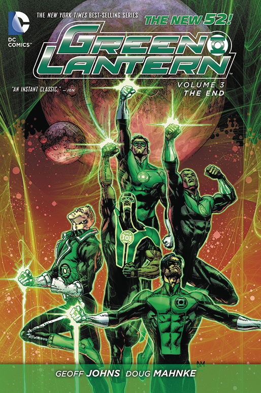 GREEN LANTERN HC VOL 03 THE END