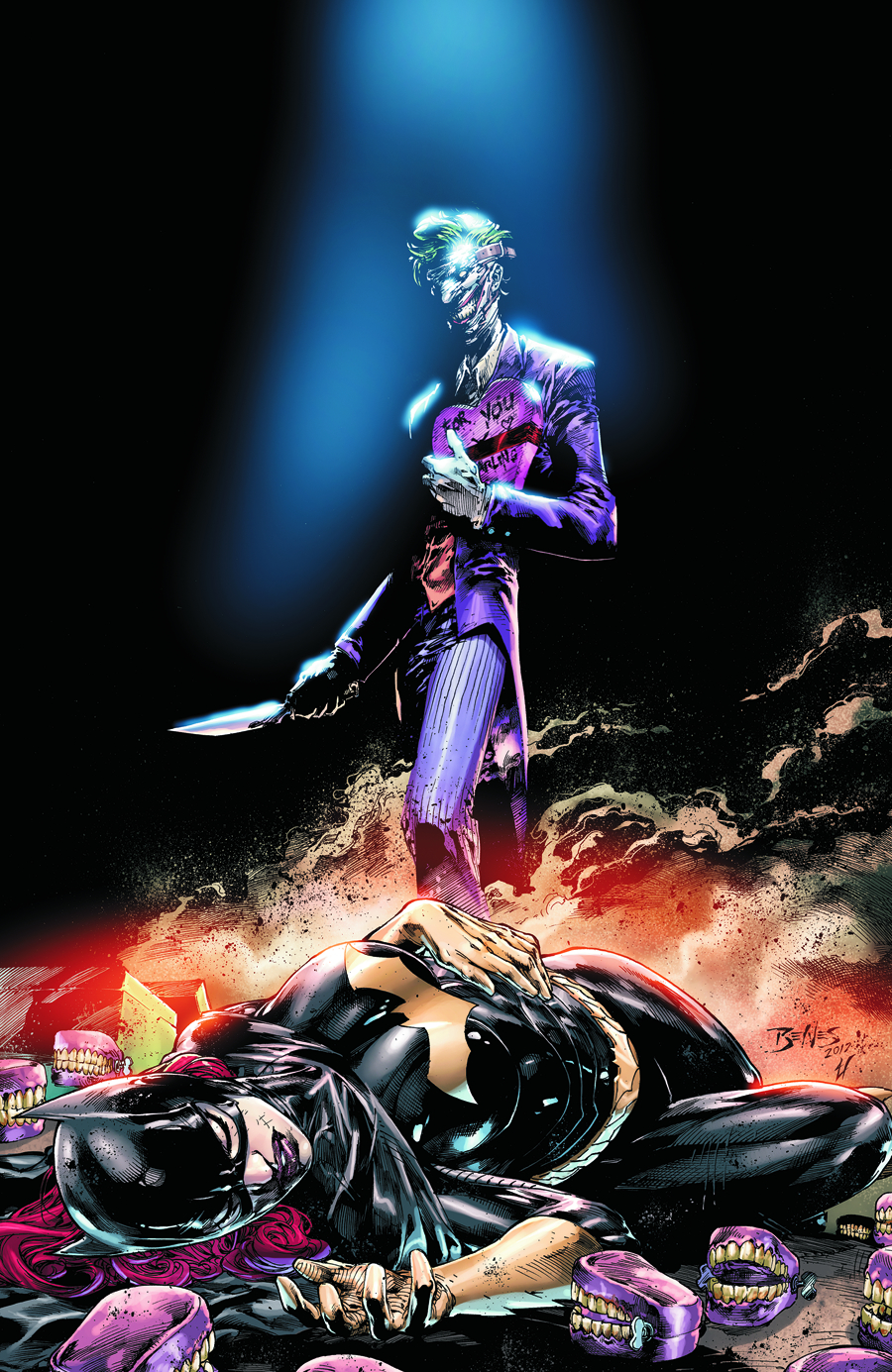 BATGIRL HC VOL 03 DEATH OF THE FAMILY