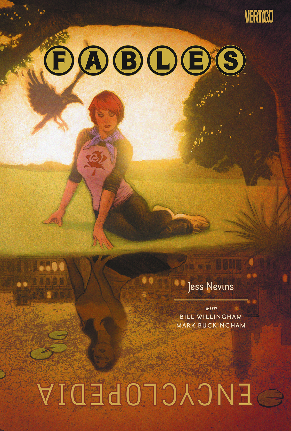 FABLES ENCYCLOPEDIA DELUXE ED HC