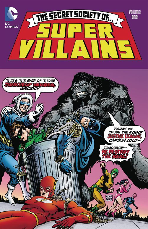 SECRET SOCIETY OF SUPER VILLAINS TP VOL 01