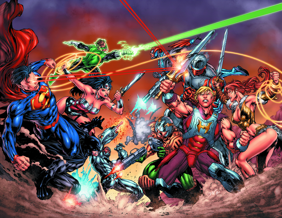 DC VS MASTERS OF THE UNIVERSE #1 (OF 6) CVR B