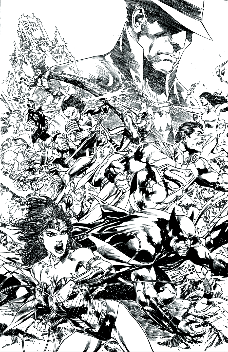 JUSTICE LEAGUE TRINITY WAR DIRECTORS CUT #1
