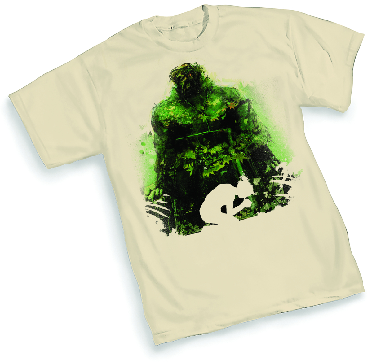 SWAMP THING SILHOUETTE BY JOCK T/S LG