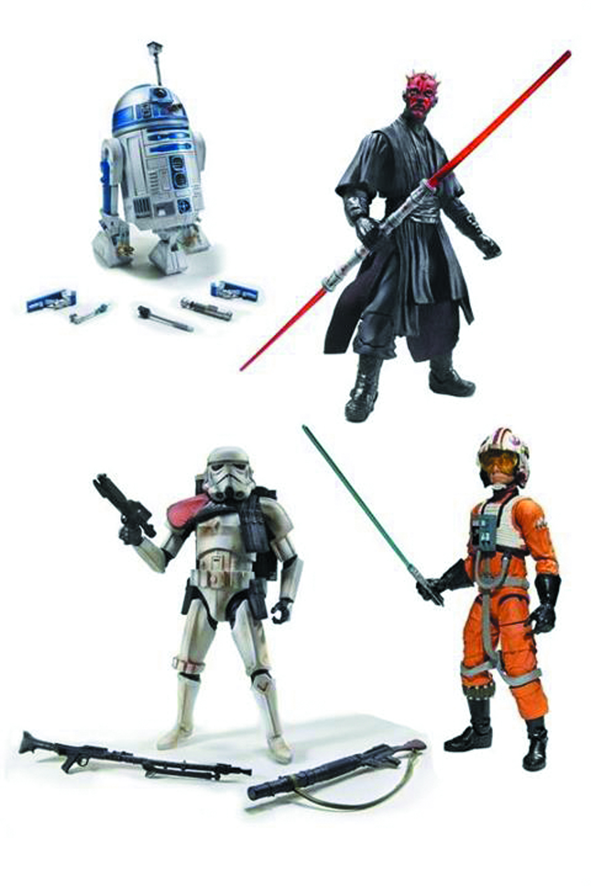 STAR WARS BLACK 6-IN AF ASST 201301