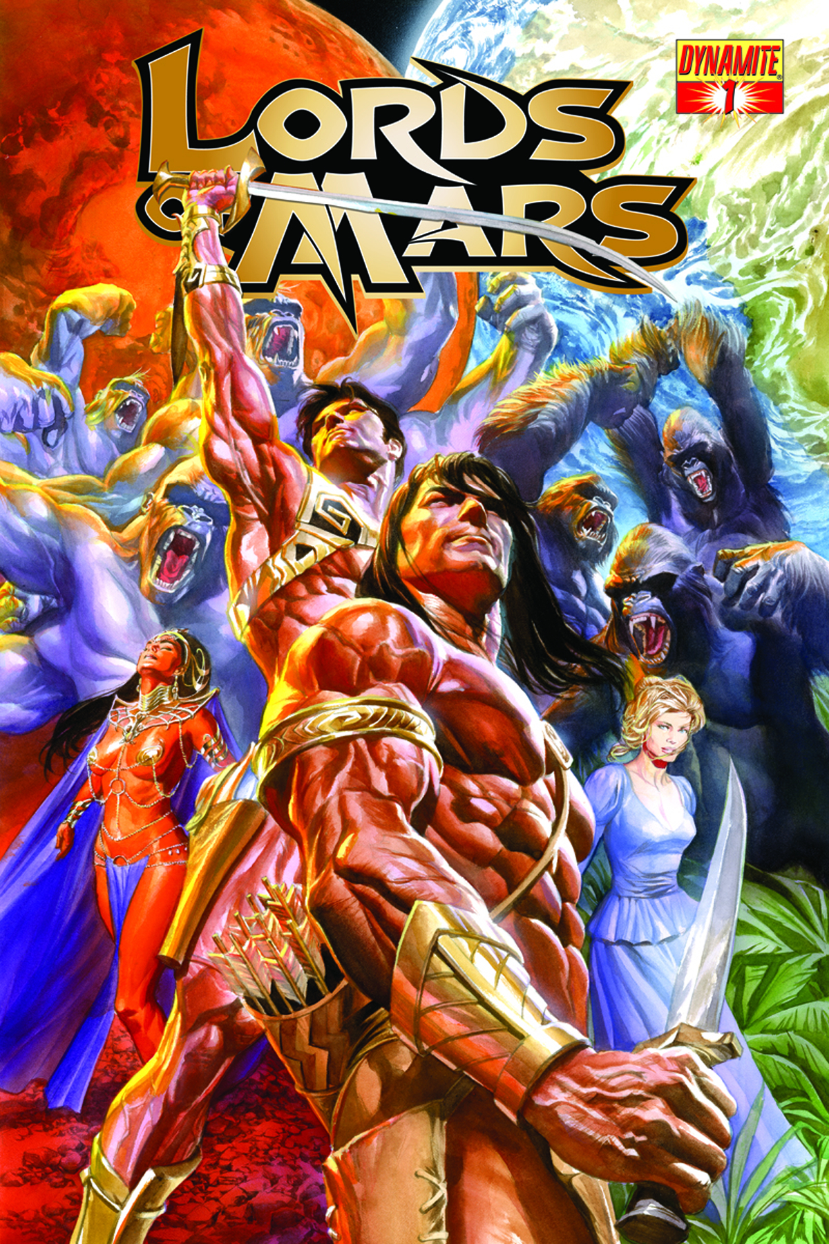 LORDS OF MARS #1 (OF 6) ROSS CVR