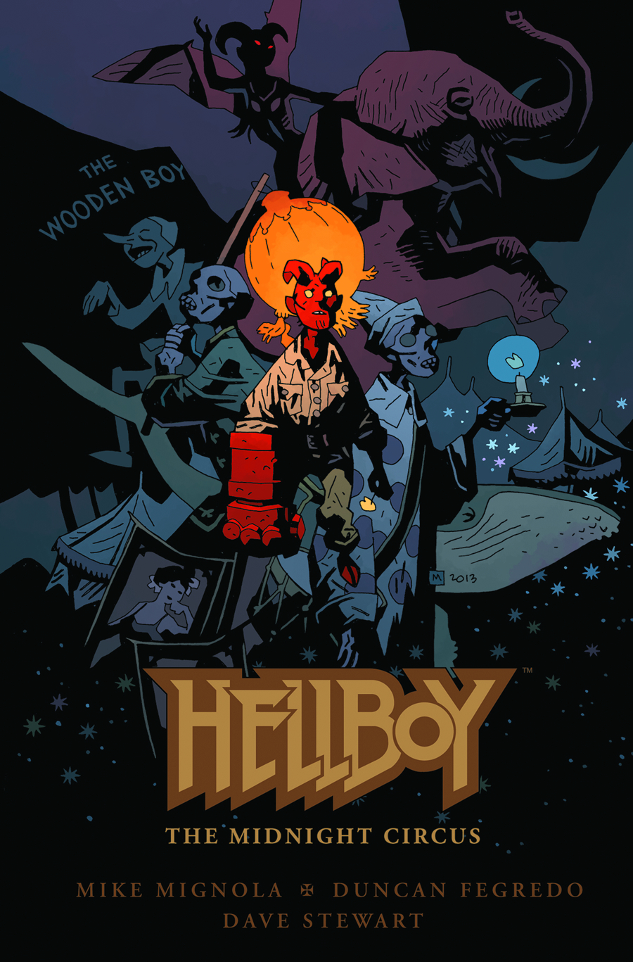 HELLBOY MIDNIGHT CIRCUS HC