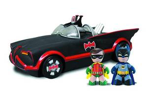 MINI-MEZITZ PX 66 BATMOBILE W/BATMAN & ROBIN