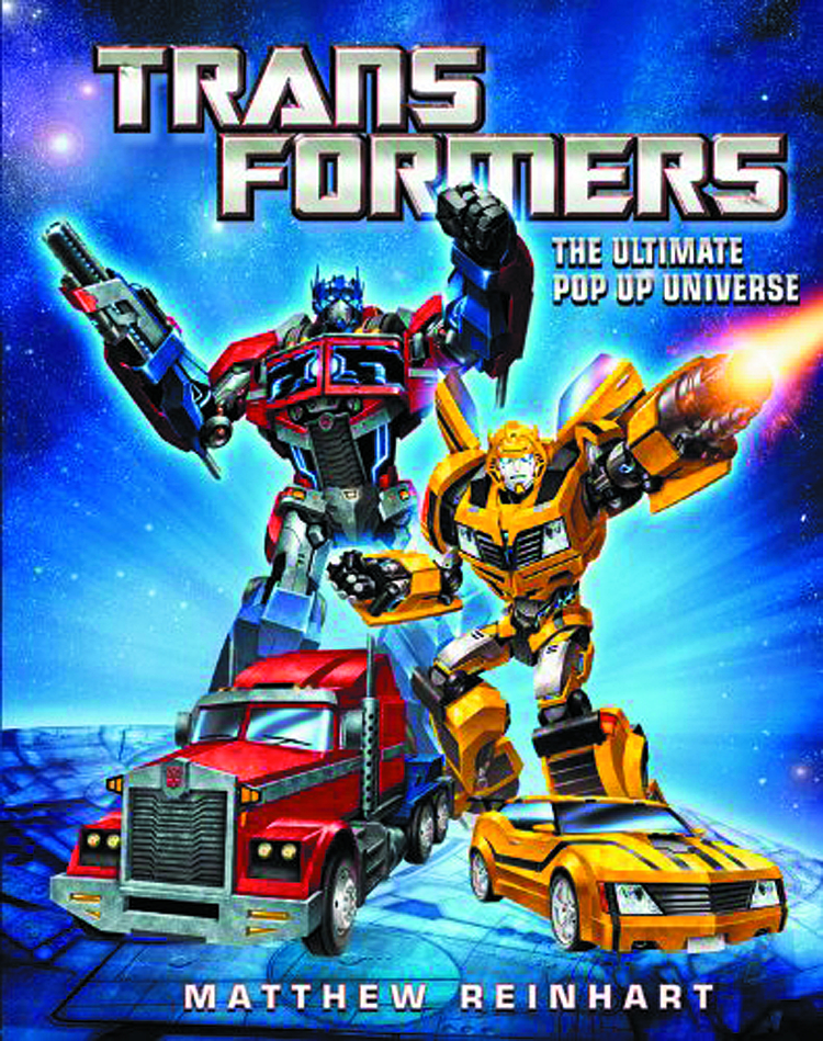 TRANSFORMERS ULTIMATE POP UP UNIVERSE HC