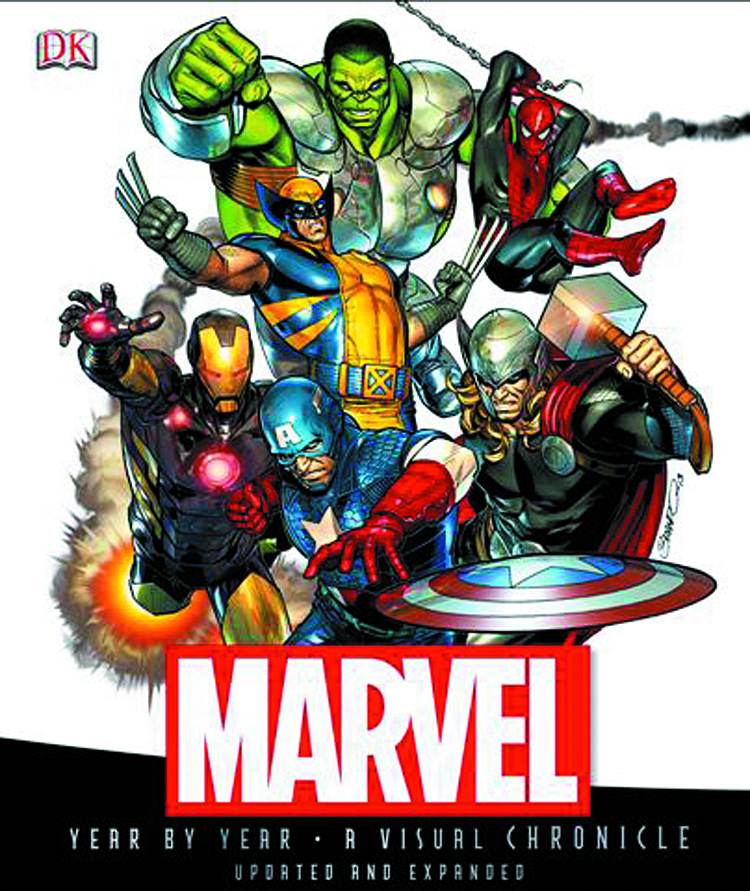 MARVEL CHRONICLE YEAR BY YEAR HC