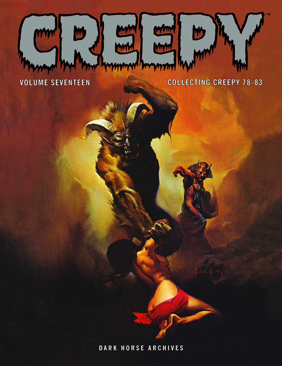 CREEPY ARCHIVES HC VOL 17