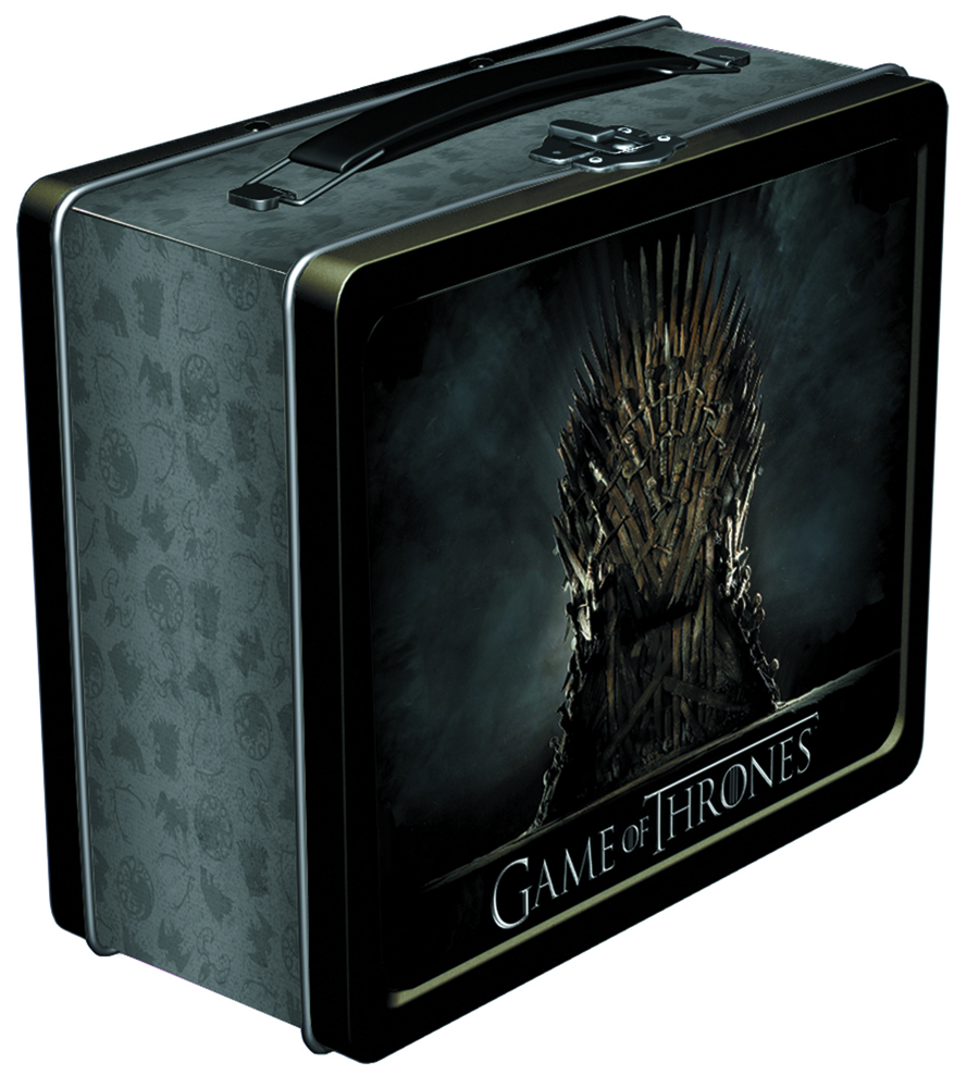 GAME OF THRONES LUNCHBOX IRON THRONE