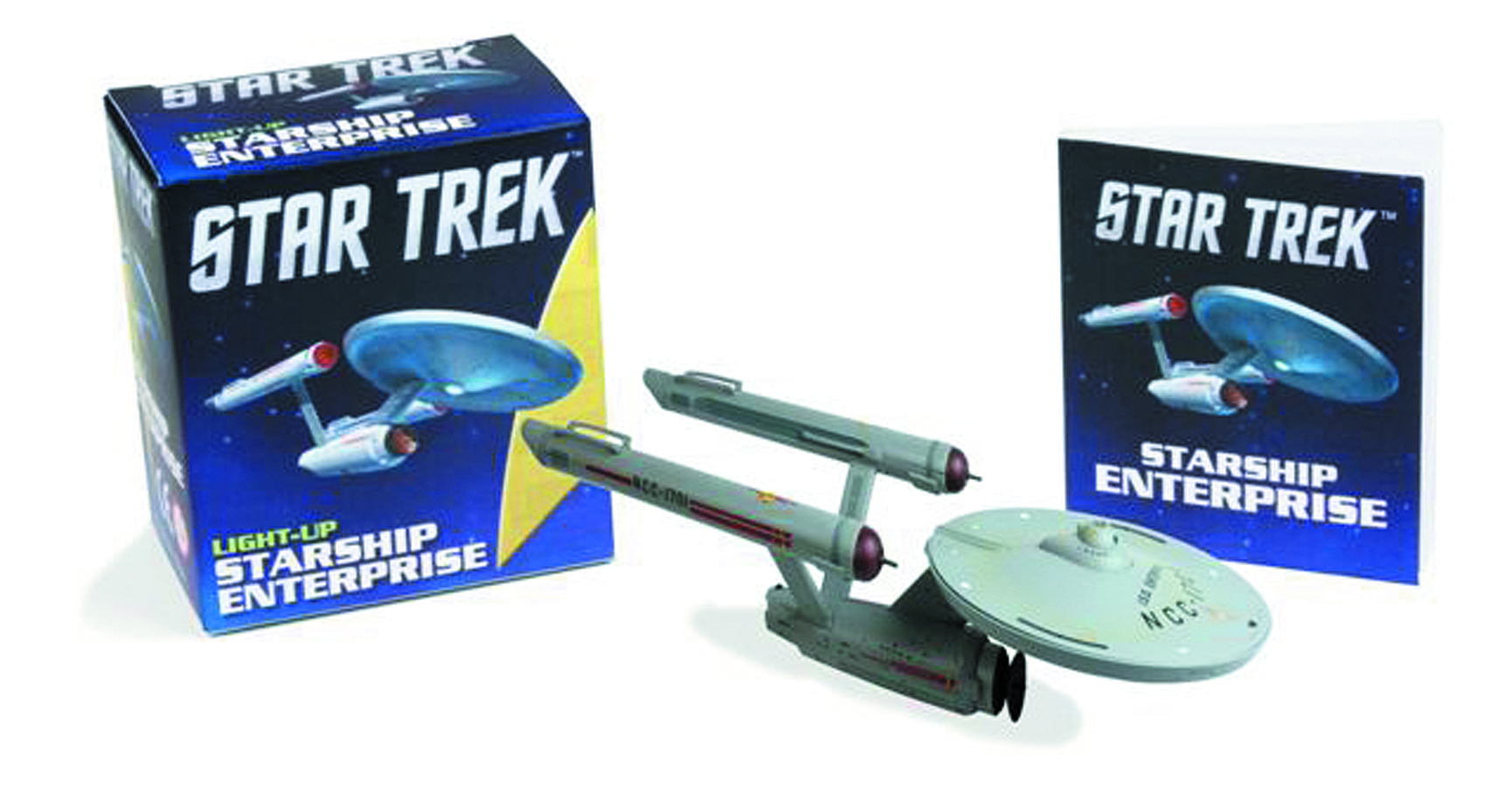 STAR TREK LIGHT UP STARSHIP ENTERPRISE KIT