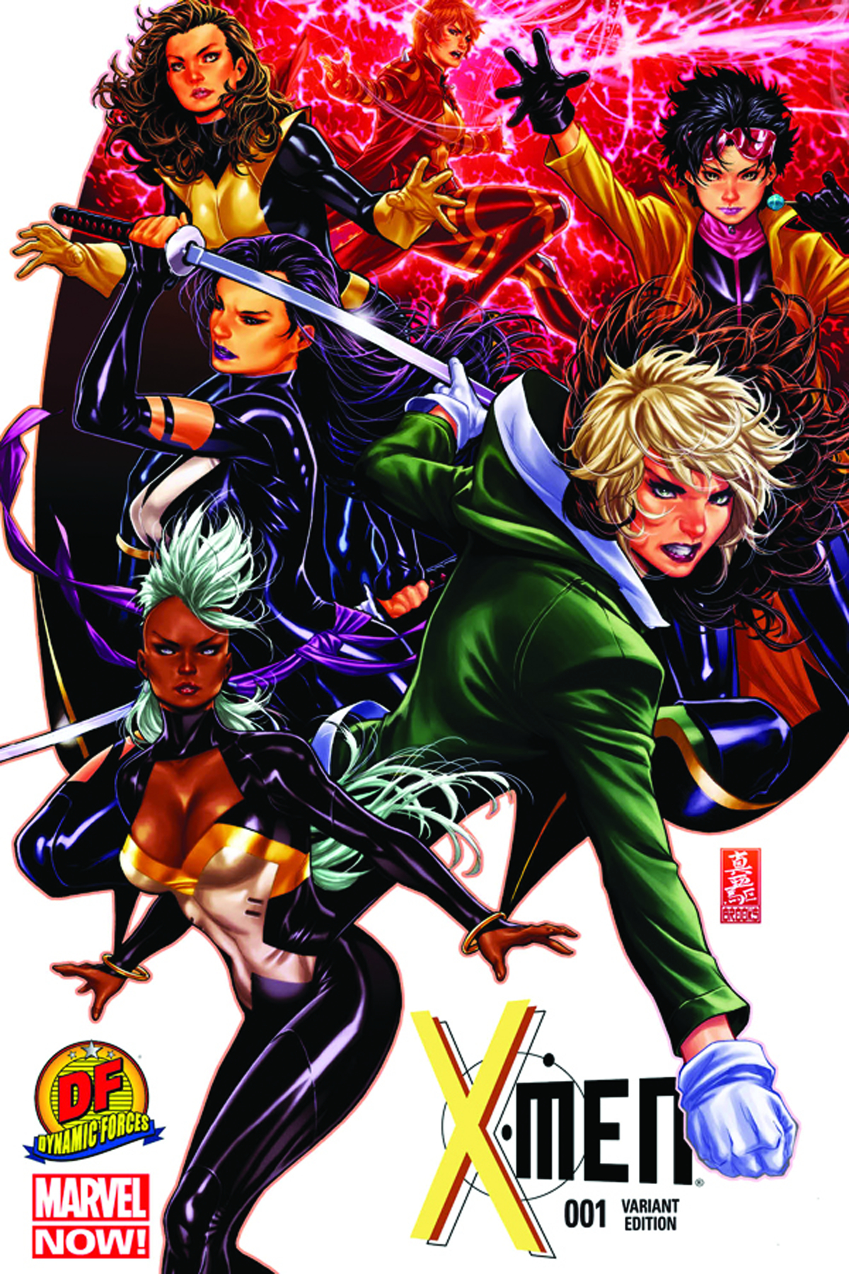 DF X-MEN #1 EXC BROOKS CVR